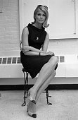 Actress Candice Bergen is photographed at Mark Shaw Studio in July 1964 in New York City CREDIT MUST READ Ken Regan/Camera 5 via Contour by Getty...