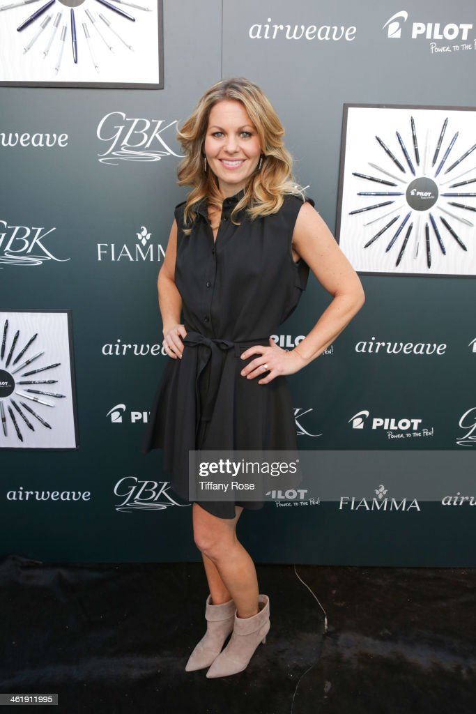 Actress Candice Cameron Bure attends the GBK & Pilot Pen Pre-Golden Globe Gift Lounge on January 11, 2014 in Beverly Hills, California.