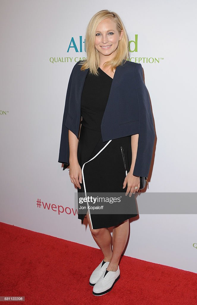 Actress Candice King arrives at AltaMed Health Services' Power Up We Are The Future Gala at the Beverly Wilshire Four Seasons Hotel on May 12 2016 in...