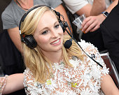 Actress Candice King attends SiriusXM's Entertainment Weekly Radio Channel Broadcasts From ComicCon 2016 at Hard Rock Hotel San Diego on July 22 2016...