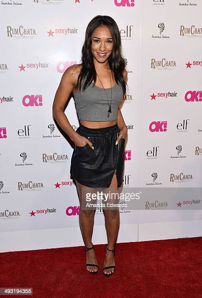 Actress Candice Patton arrives at OK Magazine's 'So Sexy' LA Event at Lure on May 21 2014 in Hollywood California