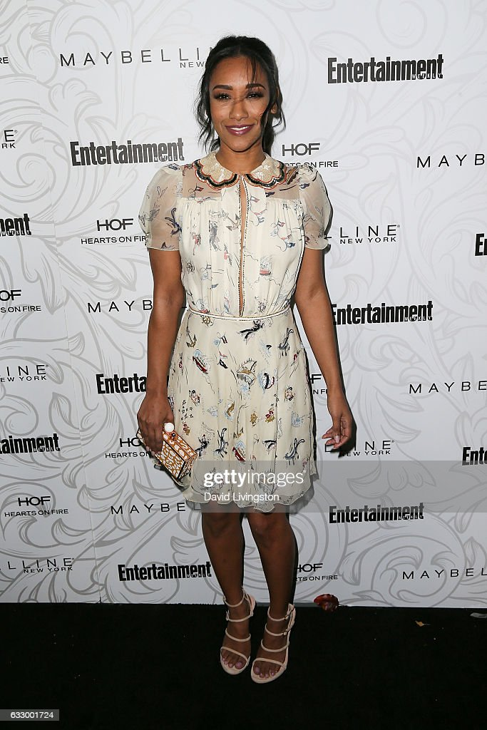 Actress Candice Patton arrives at the Entertainment Weekly celebration honoring nominees for The Screen Actors Guild Awards at the Chateau Marmont on January 28, 2017 in Los Angeles, California.