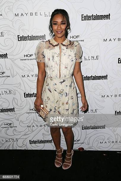 Actress Candice Patton arrives at the Entertainment Weekly celebration honoring nominees for The Screen Actors Guild Awards at the Chateau Marmont on...