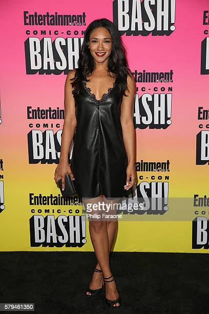 Actress Candice Patton attends Entertainment Weekly's Annual ComicCon Party 2016 at Float at Hard Rock Hotel San Diego on July 23 2016 in San Diego...