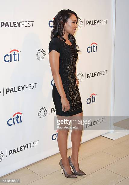 Actress Candice Patton attends the 2014 PaleyFestFall previews of the CW Network at The Paley Center for Media on September 6 2014 in Beverly Hills...