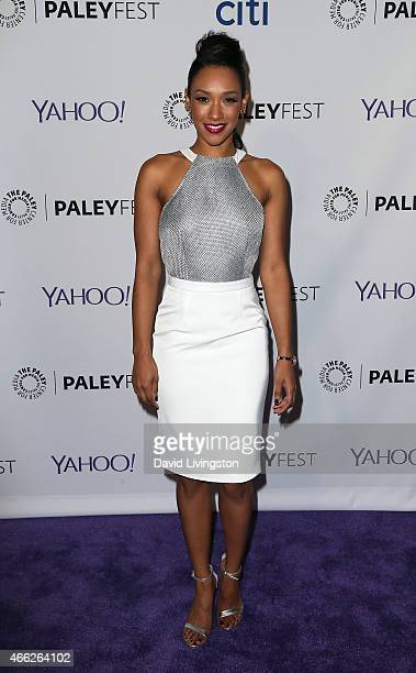 Actress Candice Patton attends the 'Arrow' 'The Flash' event at The Paley Center For Media's 32nd Annual PALEYFEST LA at the Dolby Theatre on March...