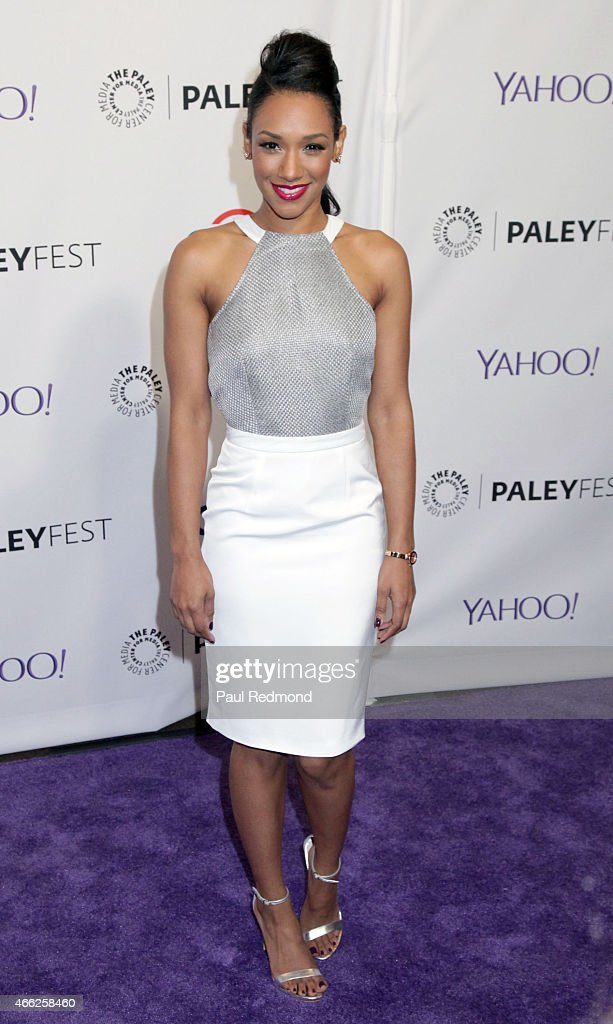 Actress Candice Patton attends The Paley Center For Media's 32nd Annual PALEYFEST LA - 'Arrow' And 'The Flash' at Dolby Theatre on March 14, 2015 in Hollywood, California.