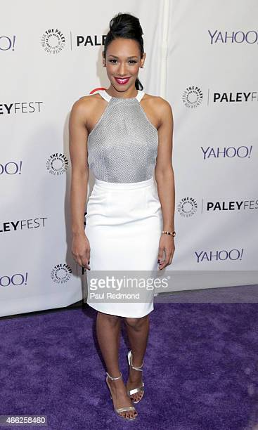 Actress Candice Patton attends The Paley Center For Media's 32nd Annual PALEYFEST LA 'Arrow' And 'The Flash' at Dolby Theatre on March 14 2015 in...