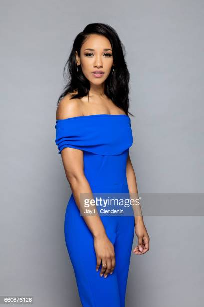 Actress Candice Patton from the CW's 'The Flash' is photographed for Los Angeles Times on March 18 2017 in Los Angeles California PUBLISHED IMAGE...