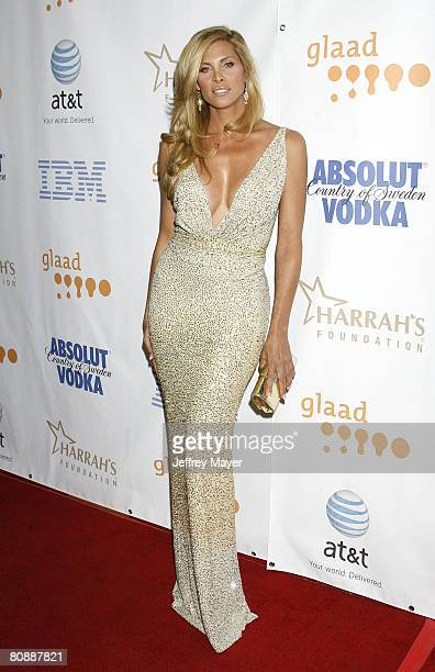 Actress Candis Cayne arrives at the 19th Annual GLAAD Media Awards on April 25 2008 at the Kodak Theatre in Hollywood California