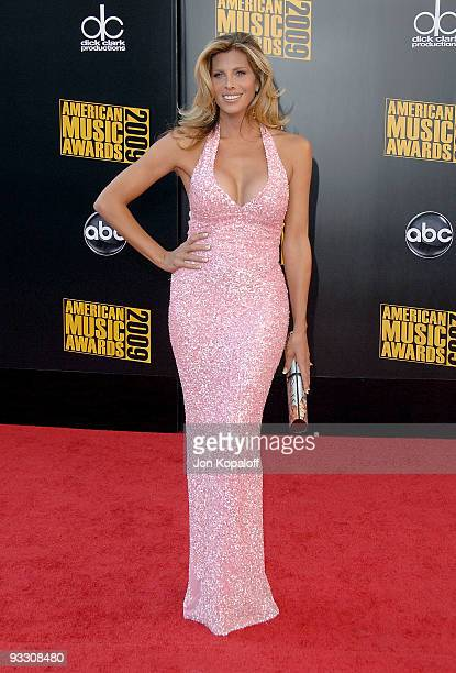 Actress Candis Cayne arrives at the 2009 American Music Awards held at the Nokia Theatre LA Live on November 22 2009 in Los Angeles California
