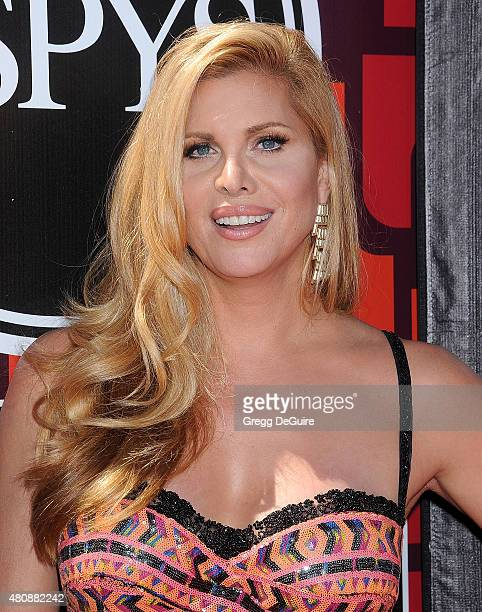 Actress Candis Cayne arrives at The 2015 ESPYS at Microsoft Theater on July 15 2015 in Los Angeles California