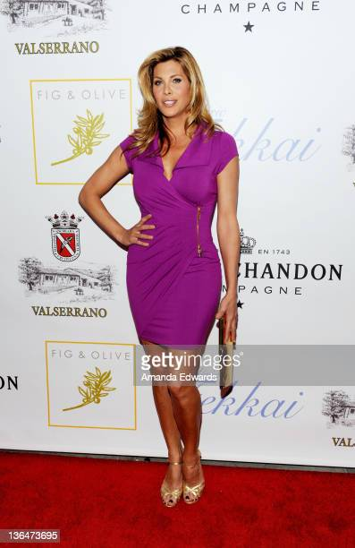 Actress Candis Cayne arrives at the second night of the grand opening party of Fig Olive Melrose Place on March 3 2011 in West Hollywood California