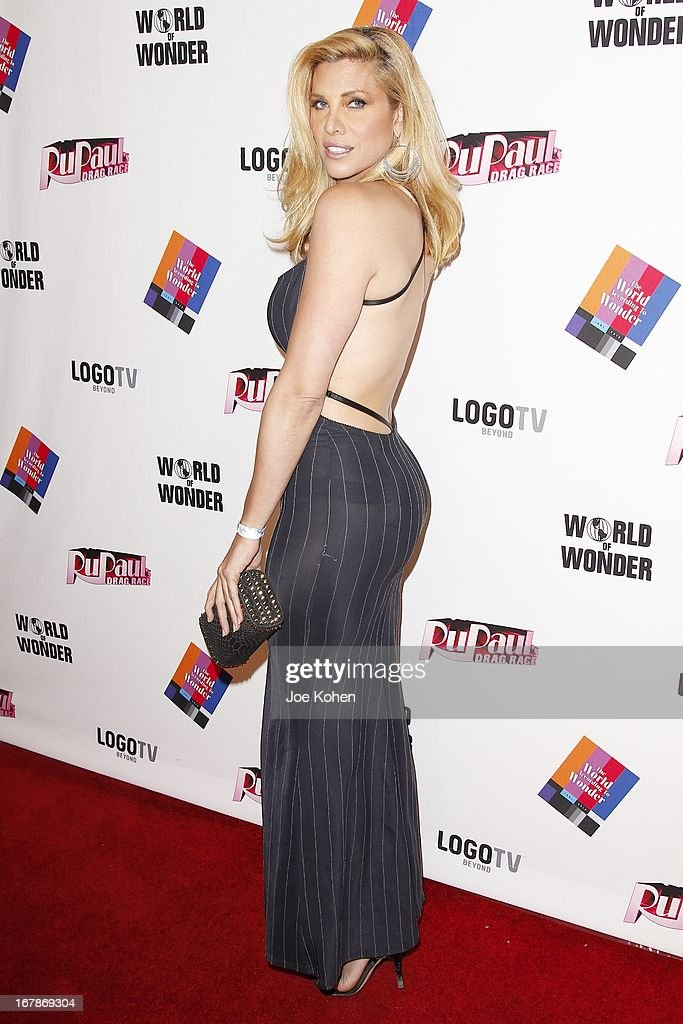 Actress Candis Cayne attends 'RuPaul's Drag Race' Season 5 Finale, Reunion & Coronation Taping on May 1, 2013 in North Hollywood, California.