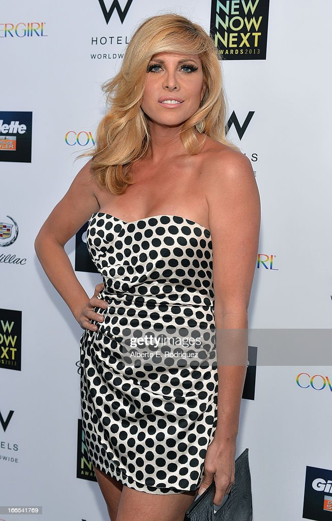 Actress <a gi-track='captionPersonalityLinkClicked' href=/galleries/search?phrase=Candis+Cayne&family=editorial&specificpeople=2852599 ng-click='$event.stopPropagation()'>Candis Cayne</a> attends the 2013 NewNowNext Awards at The Fonda Theatre on April 13, 2013 in Los Angeles, California.