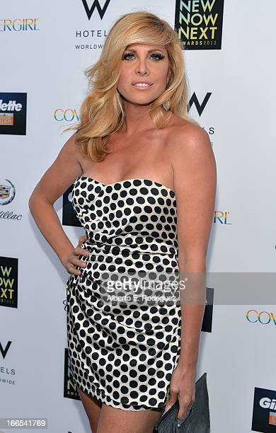 Actress Candis Cayne attends the 2013 NewNowNext Awards at The Fonda Theatre on April 13 2013 in Los Angeles California