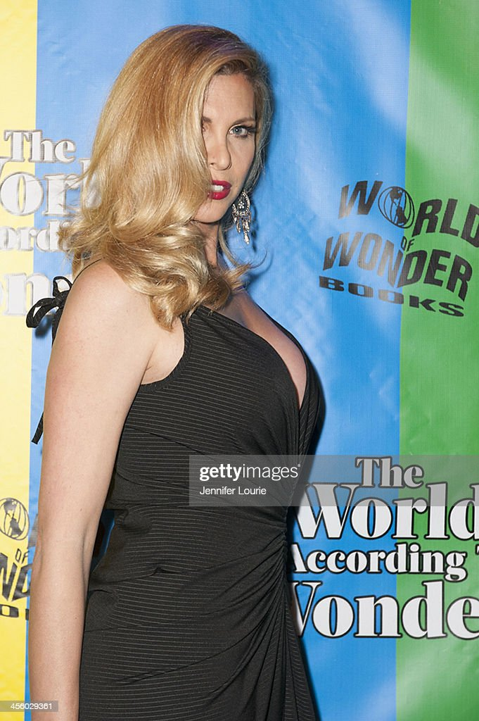 Actress <a gi-track='captionPersonalityLinkClicked' href=/galleries/search?phrase=Candis+Cayne&family=editorial&specificpeople=2852599 ng-click='$event.stopPropagation()'>Candis Cayne</a> attends the 2013 World of Wonder Holiday Party and 1st Annual WOWie Awards at The Globe Theatre on December 12, 2013 in Universal City, California.