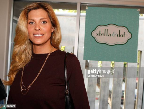 Actress Candis Cayne poses at Kari Feinstein Golden Globes Style Lounge held at Zune LA on January 8 2009 in Los Angeles California