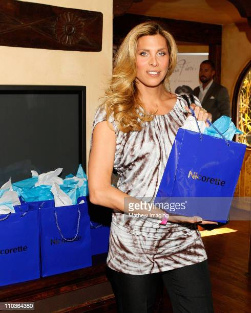Actress Candis Cayne poses at the 2009 Nicorette PreOscar Gift Suite Day 1 on Wednesday February 18 2009 in Los Angeles California