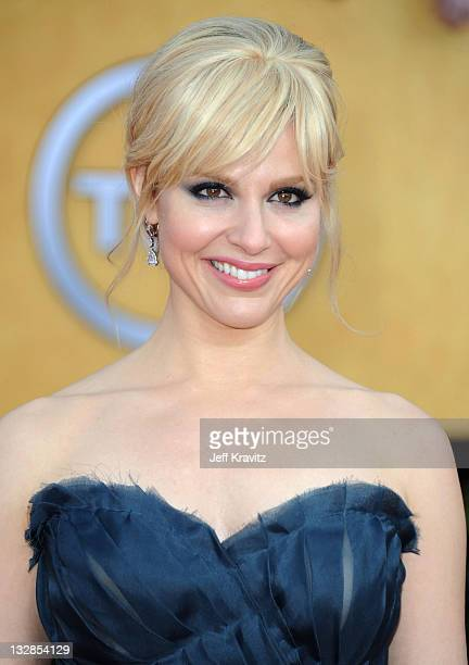 Actress Cara Buono arrives at the 17th Annual Screen Actors Guild Awards held at The Shrine Auditorium on January 30 2011 in Los Angeles California