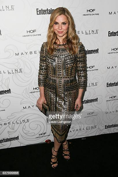 Actress Cara Buono arrives at the Entertainment Weekly celebration honoring nominees for The Screen Actors Guild Awards at the Chateau Marmont on...
