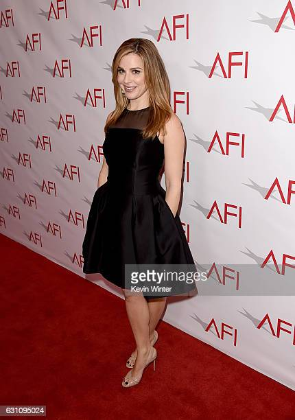 Actress Cara Buono attends the 17th annual AFI Awards at Four Seasons Los Angeles at Beverly Hills on January 6 2017 in Los Angeles California