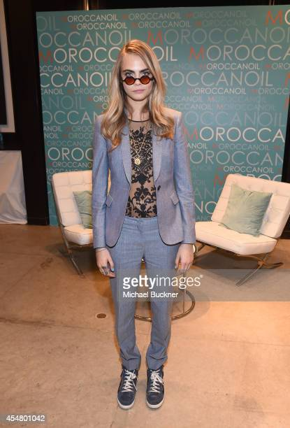 Actress Cara Delevingne attends day 2 of the Variety Studio presented by Moroccanoil at Holt Renfrew during the 2014 Toronto International Film...