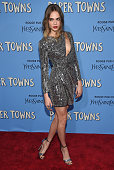 Actress Cara Delevingne attends the 'Paper Towns' New York Premiere at AMC Loews Lincoln Square on July 21 2015 in New York City