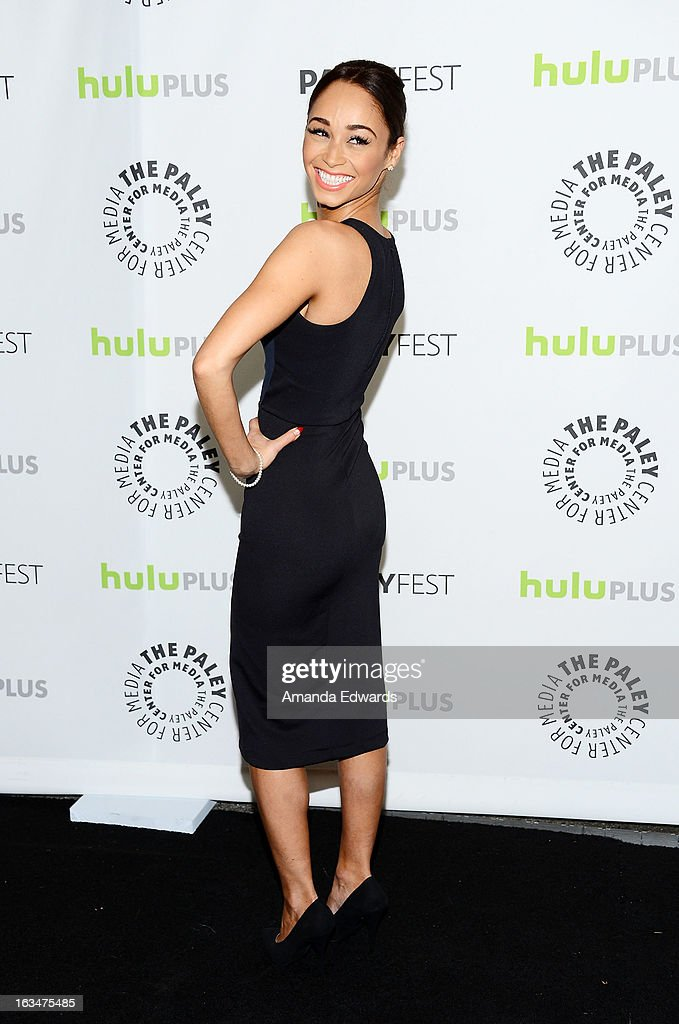 Actress Cara Santana arrives at the 30th Annual PaleyFest: The William S. Paley Television Festival featuring 'Dallas' at Saban Theatre on March 10, 2013 in Beverly Hills, California.