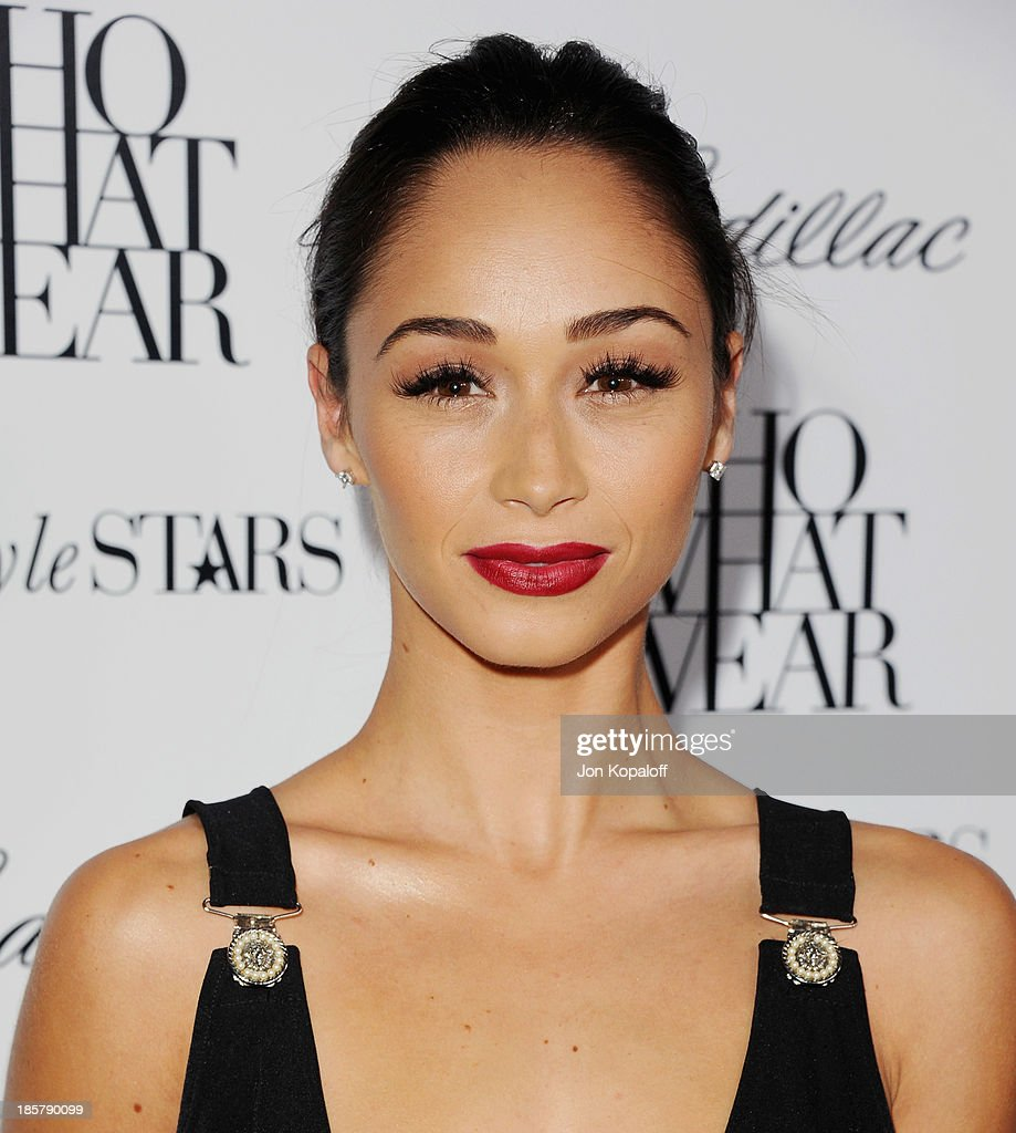 Actress Cara Santana arrives at Who What Wear And Cadillac's 50 Most Fashionable Women Of 2013 at The London Hotel on October 24, 2013 in West Hollywood, California.
