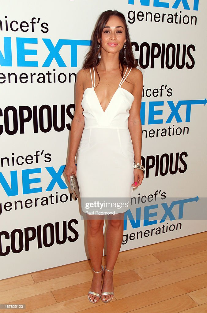 Actress <a gi-track='captionPersonalityLinkClicked' href=/galleries/search?phrase=Cara+Santana&family=editorial&specificpeople=4311902 ng-click='$event.stopPropagation()'>Cara Santana</a> attends 1st Annual UNICEF NextGen LA Photo Benefit at SkyBar at the Mondrian Los Angeles on May 1, 2014 in West Hollywood, California.