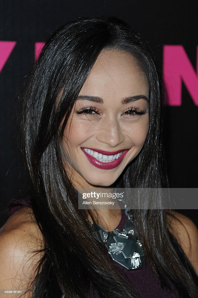 Actress Cara Santana attends NYLON Magazine's December Issue Celebration featuring cover star Demi Lovato at Smashbox West Hollywood on December 5, 2013 in West Hollywood, California.