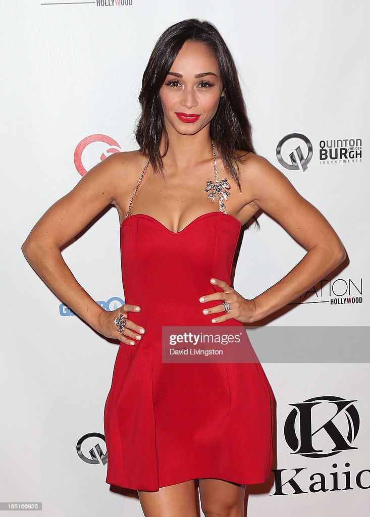 Actress <a gi-track='captionPersonalityLinkClicked' href=/galleries/search?phrase=Cara+Santana&family=editorial&specificpeople=4311902 ng-click='$event.stopPropagation()'>Cara Santana</a> attends the Kaiio's launch event at Station Hollywood at the W Hollywood Hotel on October 17, 2013 in Hollywood, California.
