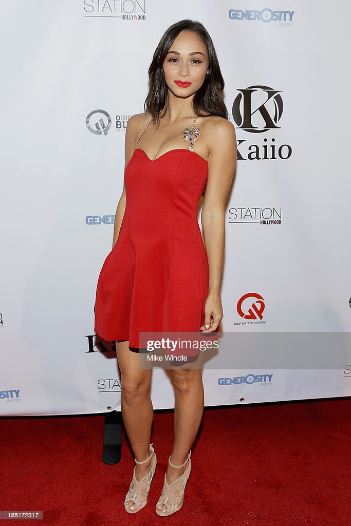 Actress <a gi-track='captionPersonalityLinkClicked' href=/galleries/search?phrase=Cara+Santana&family=editorial&specificpeople=4311902 ng-click='$event.stopPropagation()'>Cara Santana</a> attends the Kaiio's launch event at Station Hollywood at W Hollywood Hotel on October 17, 2013 in Hollywood, California.