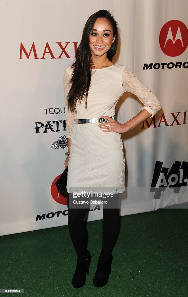 Actress Cara Santana attends the Maxim Party Powered by Motorola Xoom at Centennial Hall at Fair Park on February 5, 2011 in Dallas, Texas.