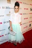 Actress Cara Santana attends the Nylon BCBGeneration May Young Hollywood Party at Hollywood Roosevelt Hotel on May 8 2014 in Hollywood California