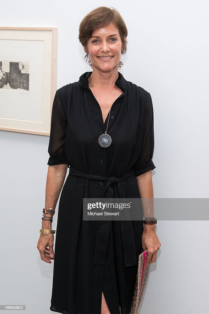 Actress <a gi-track='captionPersonalityLinkClicked' href=/galleries/search?phrase=Carey+Lowell&family=editorial&specificpeople=211361 ng-click='$event.stopPropagation()'>Carey Lowell</a> attends the Fierce Creativity Art Exhibition Reception at The Flag Art Foundation on May 22, 2013 in New York City.