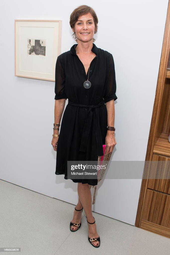 Actress Carey Lowell attends the Fierce Creativity Art Exhibition Reception at The Flag Art Foundation on May 22, 2013 in New York City.