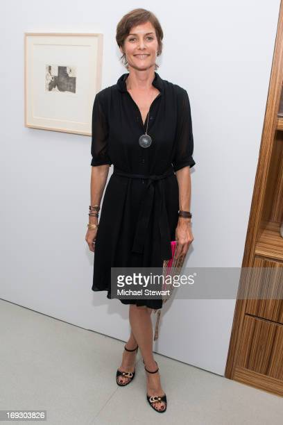 Actress Carey Lowell attends the Fierce Creativity Art Exhibition Reception at The Flag Art Foundation on May 22 2013 in New York City