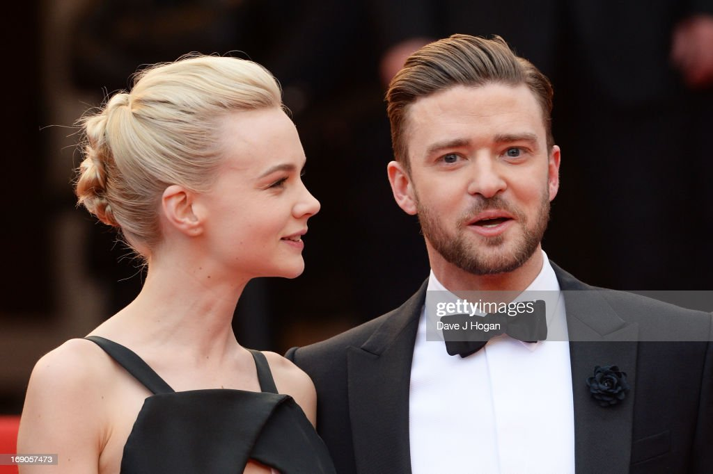 Actress Carey Mulligan (L) and actor Justin Timberlake attend the 'Inside Llewyn Davis' Premiere during the 66th Annual Cannes Film Festival at Grand Theatre Lumiere on May 19, 2013 in Cannes, France.