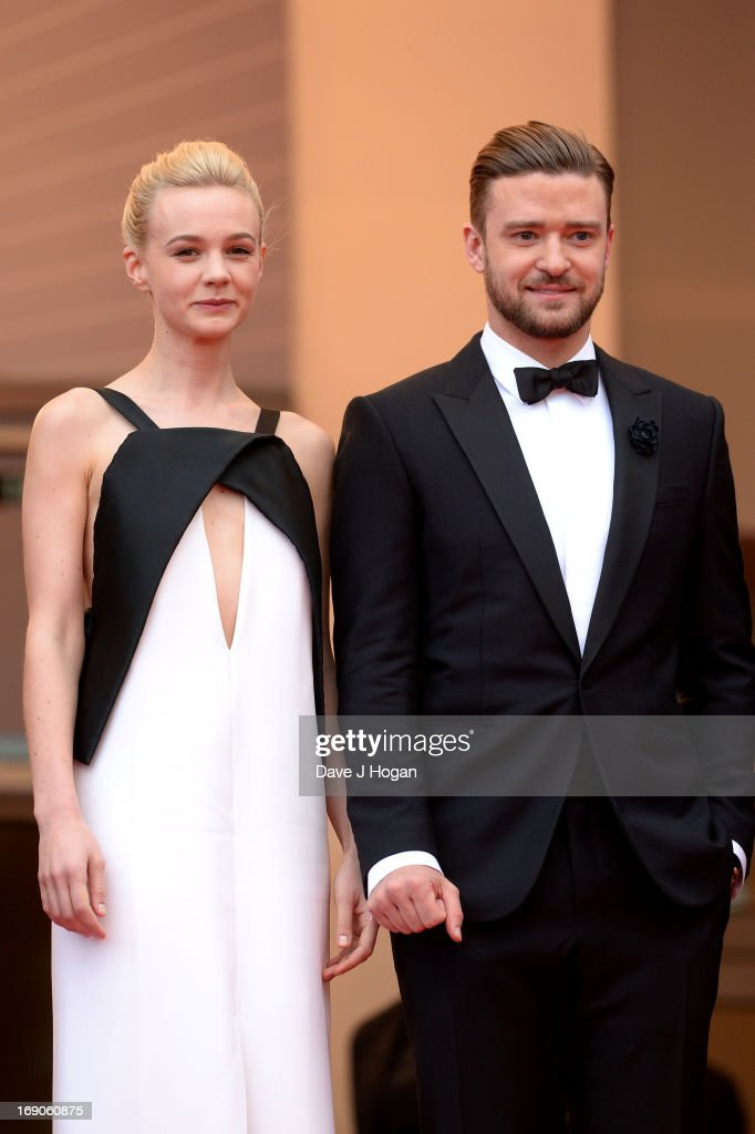 Actress Carey Mulligan and actor Justin Timberlake attend the 'Inside Llewyn Davis' Premiere during the 66th Annual Cannes Film Festival at Grand Theatre Lumiere on May 19, 2013 in Cannes, France.