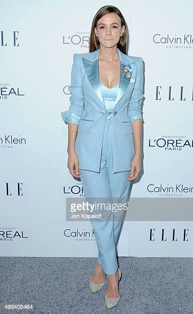 Actress Carey Mulligan arrives at the 22nd Annual ELLE Women In Hollywood Awards at Four Seasons Hotel Los Angeles at Beverly Hills on October 19...
