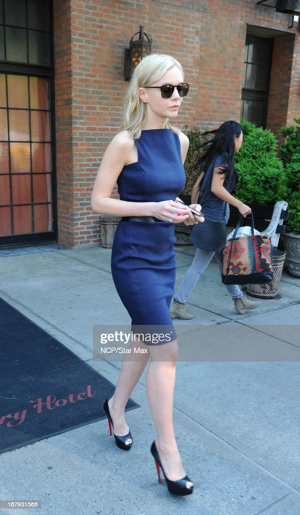 Actress Carey Mulligan as seen on May 2, 2013 in New York City.