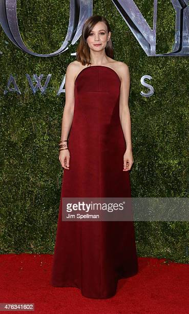 Actress Carey Mulligan attends American Theatre Wing's 69th Annual Tony Awards at Radio City Music Hall on June 7 2015 in New York City