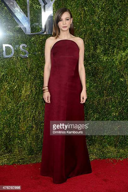 Actress Carey Mulligan attends the 2015 Tony Awards at Radio City Music Hall on June 7 2015 in New York City
