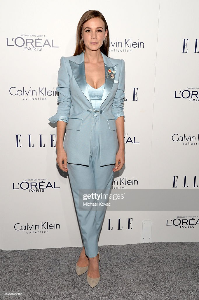 Actress Carey Mulligan attends the 22nd Annual ELLE Women in Hollywood Awards at Four Seasons Hotel Los Angeles at Beverly Hills on October 19 2015...