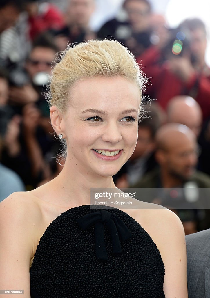 Actress Carey Mulligan attends 'The Great Gatsby' photocall during the 66th Annual Cannes Film Festival at the Palais des Festivals on May 15, 2013 in Cannes, France.