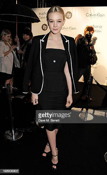 Actress Carey Mulligan attends the IFP Calvin Klein Collection Euphoria Calvin Klein celebration of Women In Film At The 66th Cannes Film Festival on...