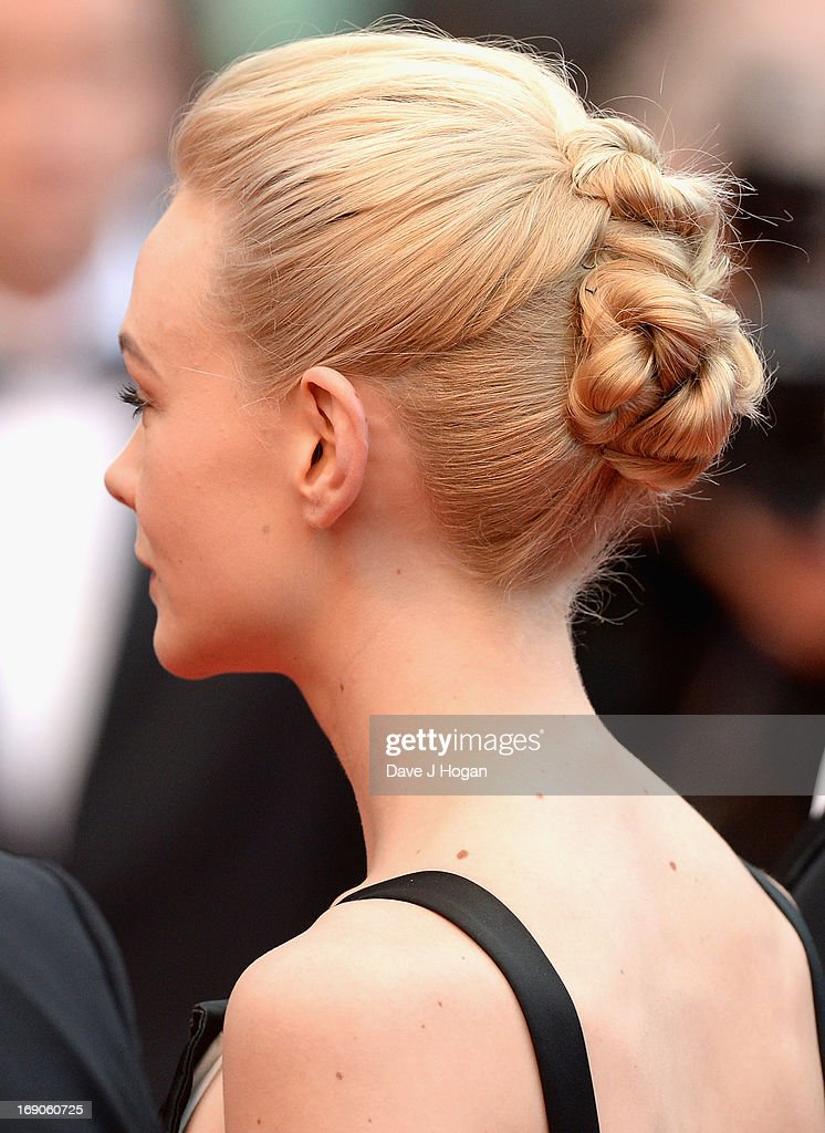 Actress Carey Mulligan attends the 'Inside Llewyn Davis' Premiere during the 66th Annual Cannes Film Festival at Grand Theatre Lumiere on May 19, 2013 in Cannes, France.