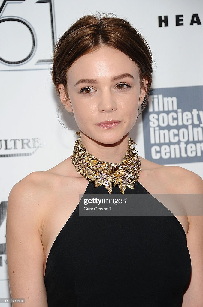 Actress <a gi-track='captionPersonalityLinkClicked' href=/galleries/search?phrase=Carey+Mulligan&family=editorial&specificpeople=2262681 ng-click='$event.stopPropagation()'>Carey Mulligan</a> attends the 'Inside Lleywn Davis' premiere during the 51st New York Film Festival at Alice Tully Hall at Lincoln Center on September 28, 2013 in New York City.